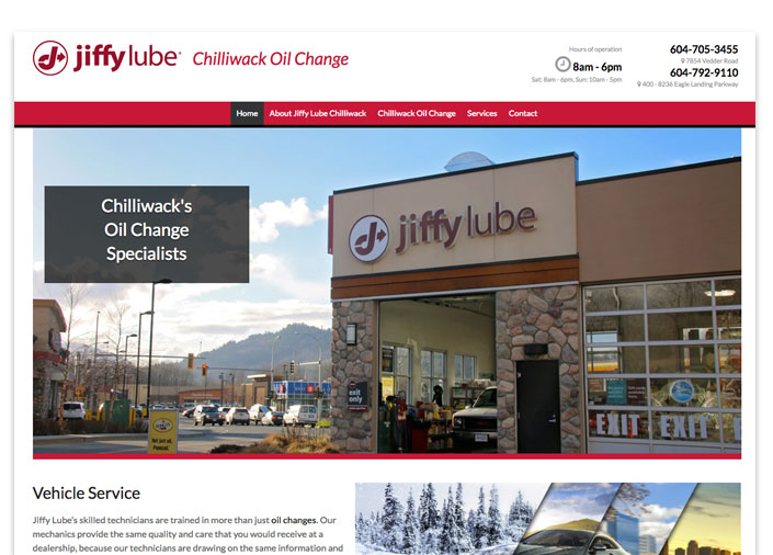 Jiffy Lube Client